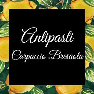 Antipasti-Carpaccio Bresaola-Da-Tano-Da-Tano-Italiaanse-Smaak