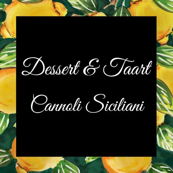 Dessert-En-Taart-Cannoli Siciliani-DaTano-Italiaanse-Smaak