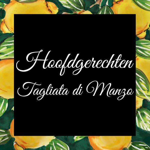 Hoofdgerechten-Tagliata di Manzo-Da-Tano-Italiaanse-Smaak