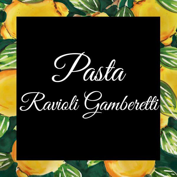 Pasta-Ravioli Gamberetti-Da-Tano-Da-Tano-Italiaanse-Smaak
