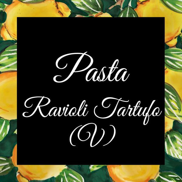 Pasta-Ravioli Tartufo-Da-Tano-Da-Tano-Italiaanse-Smaak
