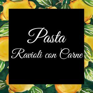 Pasta-Ravioli con Carne-Da-Tano-Da-Tano-Italiaanse-Smaak