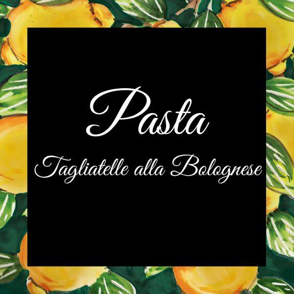 Pasta-Tagliatelle alla Bolognese-Da-Tano-Da-Tano-Italiaanse-Smaak