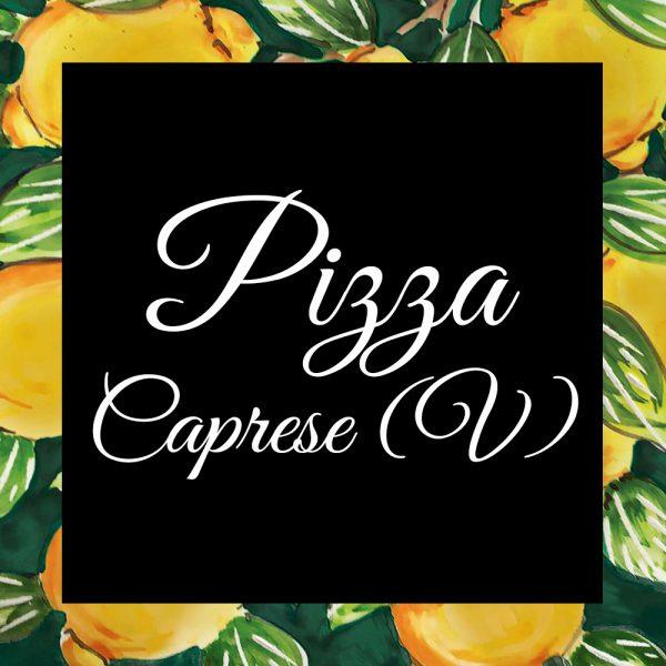 Pizza-Caprese (V) -DaTano-Italiaanse-Smaak
