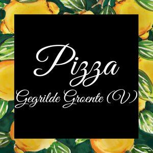 Pizza-Gegrilde Groente (V)-DaTano-Italiaanse-Smaak