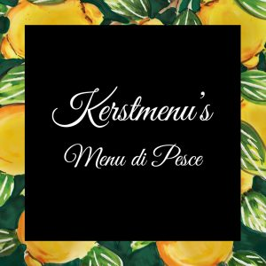 Kerstmenu's - Menu di Pesce