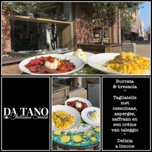 Paasemenu Da Tano Restaurant Italiaan