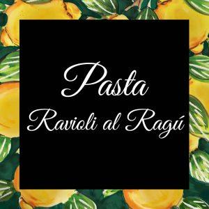 Pasta-Ravioli al ragu-Da-Tano-Da-Tano-Italiaanse-Smaak